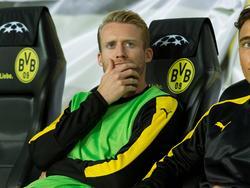 André Schürrle sitzt beim BVB überwiegend nur auf der Bank