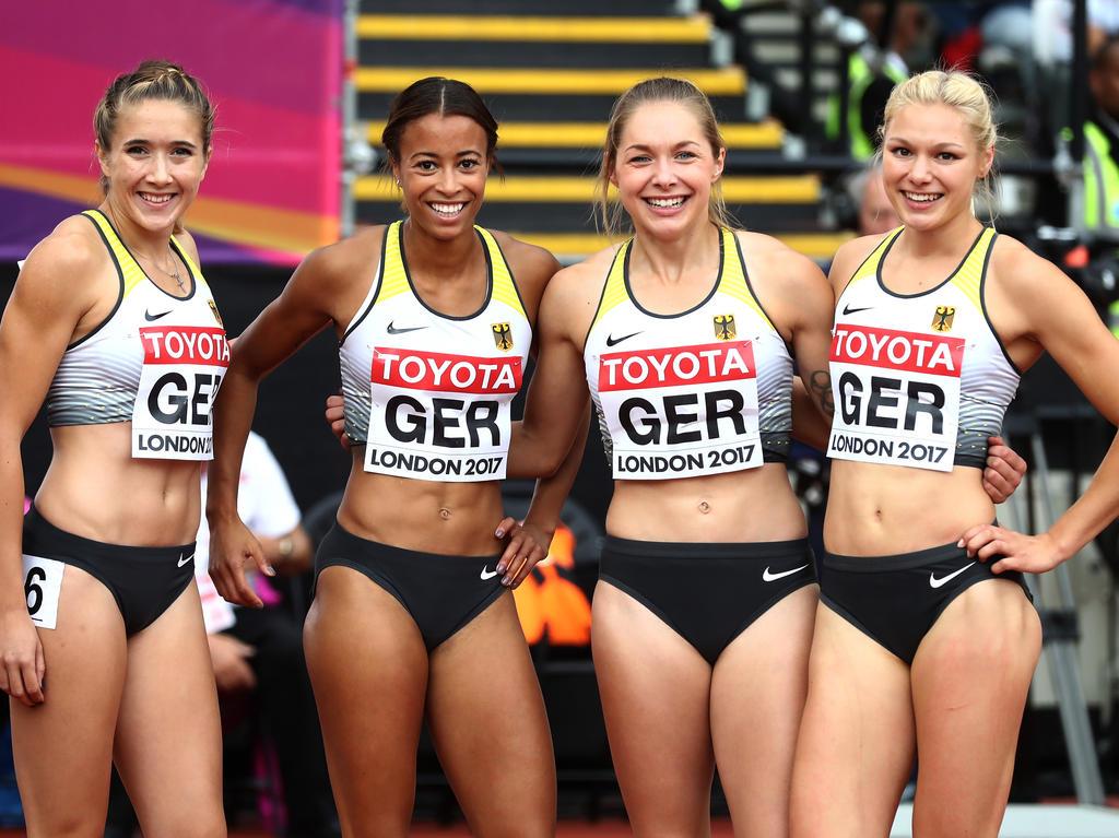 Die Deutsche Damen Staffel