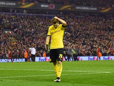 Marco Reus und der BVB erlebten an der Anfield Road einen schwarzen Tag