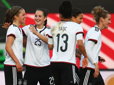 Die DFB-Damen gehen Favoritinnen ins Rennen
