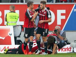 Der FC Ingolstadt setzt seinen Höhenflug weiter fort