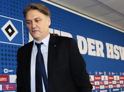 Dietmar Beiersdorfer bleib wohl noch länger Sportdirektor in Hamburg