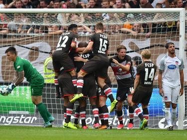 Der FC St. Pauli feiert am vierten Spieltag den zweiten Saisonsieg