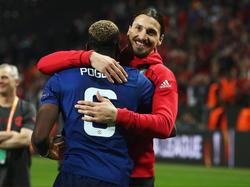 Ende der Leidenszeit für Paul Pogba und Zlatan Ibrahimovic