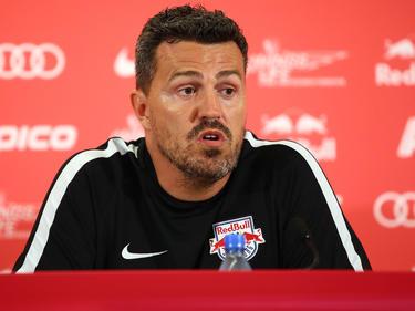 Óscar García en su etapa como técnico del Red Bull Salzburgo. (Foto: Getty)