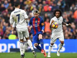 Im Duell der beiden Weltstars hatte am Ende weder Messi noch CR7 die Nase vorn