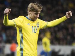 Emil Forsberg steht im schwedischen Aufgebot