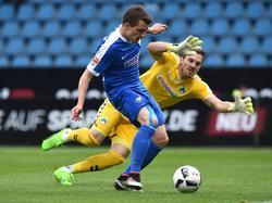 Thomas Eisfeld erzielte das einzige Tor der Partie