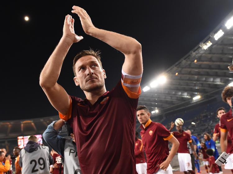 Francesco Totti zieht in seine letzte Schlacht um Rom