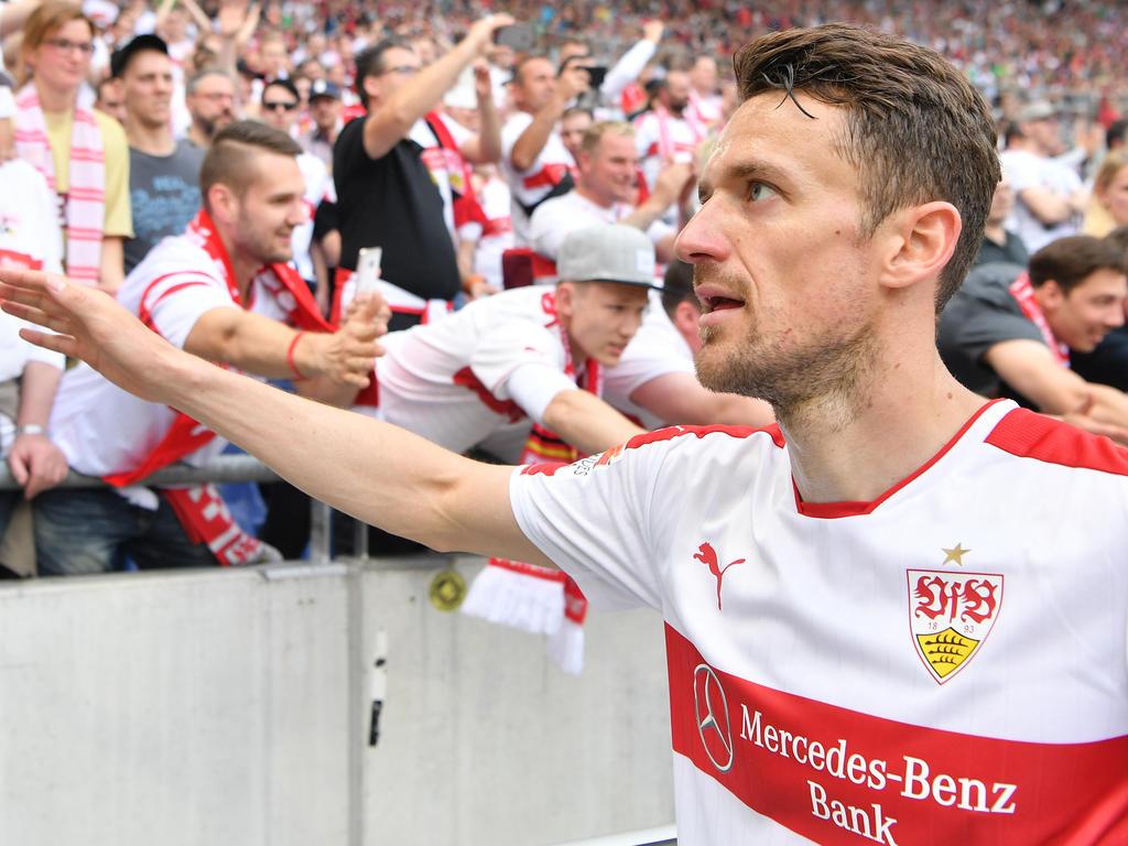 Stuttgarts Kapitän Christian Gentner hat sich zur Lage beim VfB geäußert