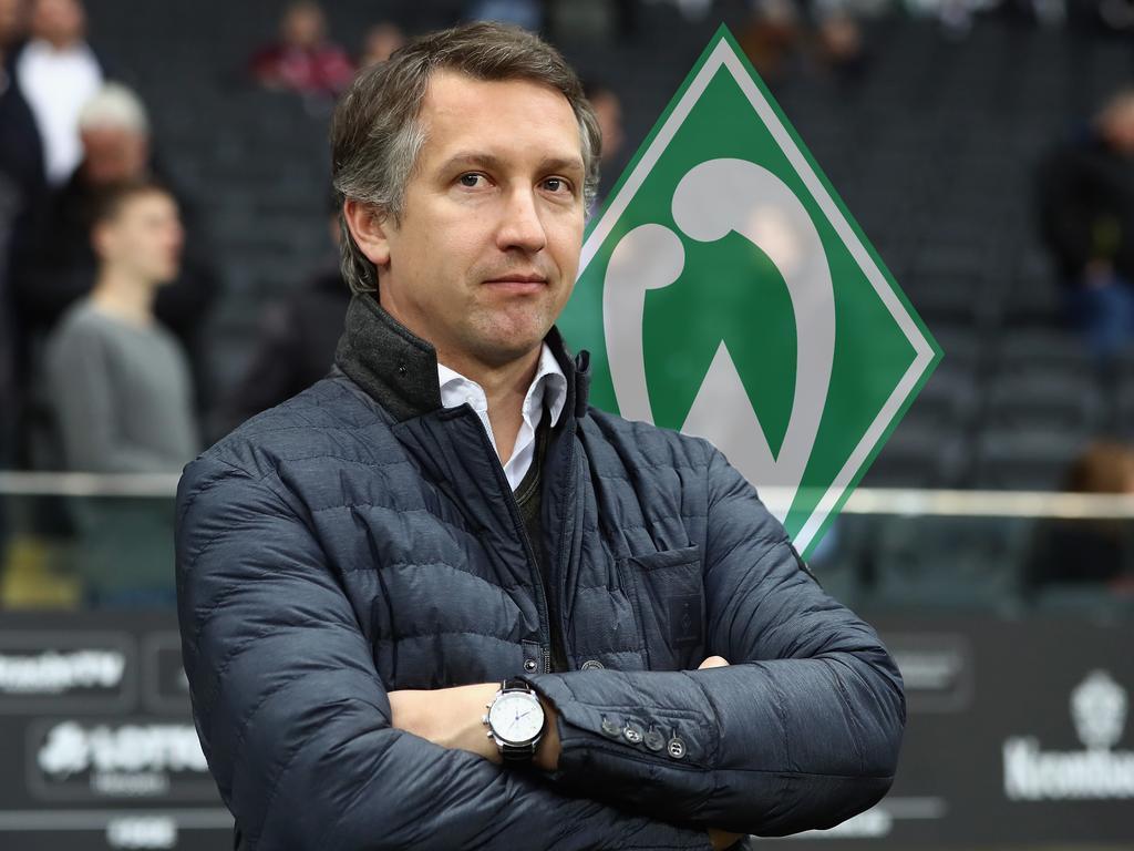 Geschäftsführer Frank Baumann hofft auf einen guten Werder-Start