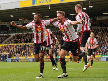 Sunderland bejubelt den Sieg gegen Norwich City