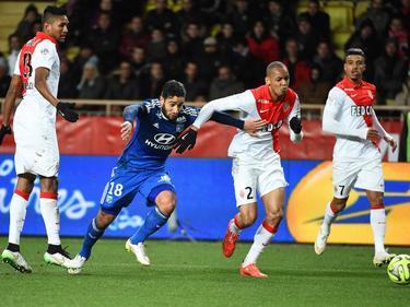 El Mónaco ya prepara el partido ante el Lyon. (Foto: Getty)