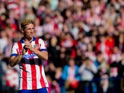 Ferndando Torres spielt wieder im Trikot von Atlético Madrid Fußball