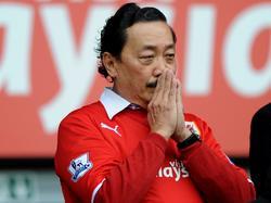 Cardiff City Boss Vincent Tan wirft der Vereinsführung von Wigan Athletic Rassismus vor