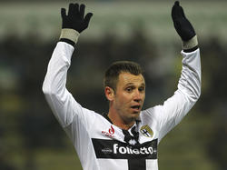 Cassano en su etapa como jugador del Parma. (Foto: Getty)