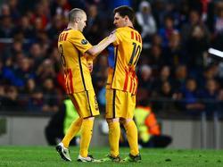 Lionel Messi und Andres Iniesta haben auf die Türkeireise verzichtet