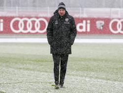 Maik Walpurgis geht die Herausforderung auf Schalke positiv an