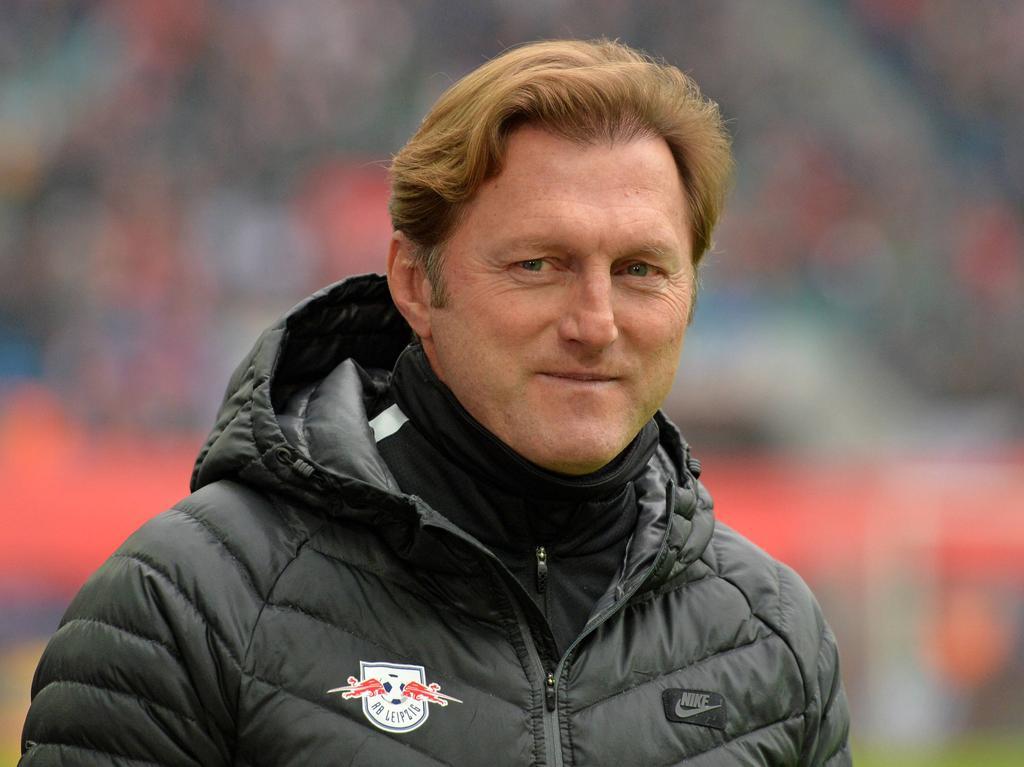 RB-Trainer Ralph Hasenhüttl gibt sich selbstbewusst