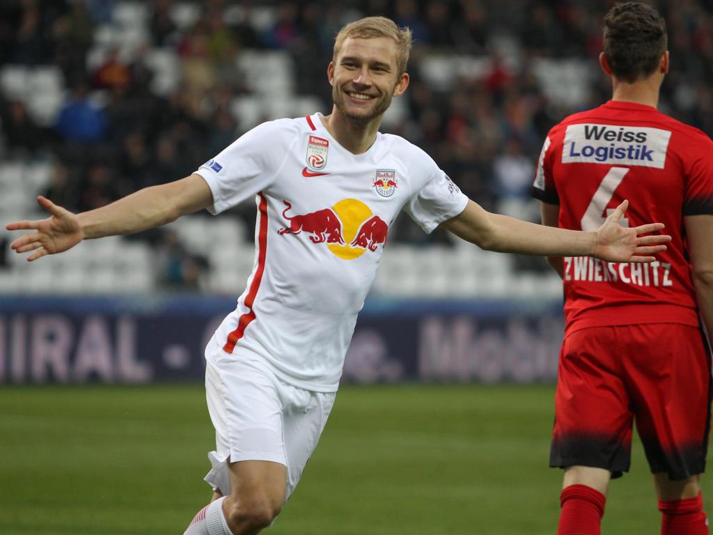 Medien: RB Leipzig vor Verpflichtung von Laimer