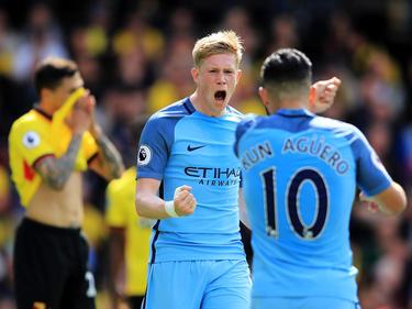 El City goleó al Watford en la última jornada de la Premier. (Foto: Getty)