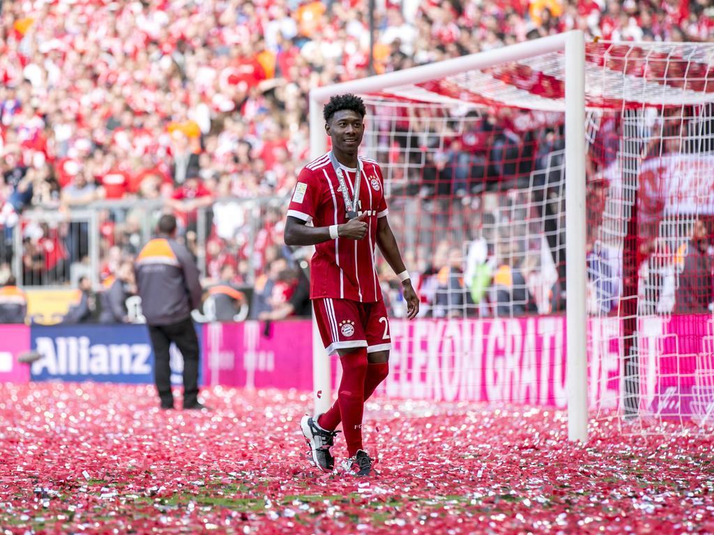 David Alaba spricht über Cristiano Ronaldo, Serge Gnabry und Corentin Tolisso