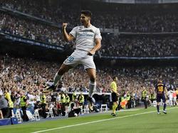 Marco Asensio traf für Real Madrid