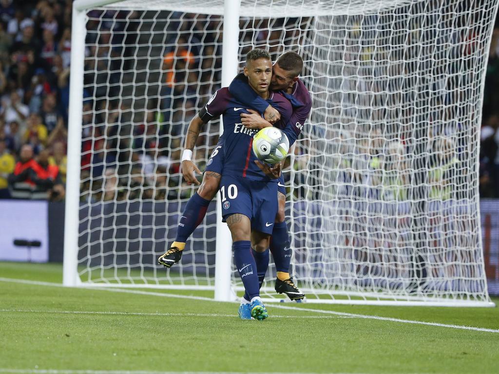 Fußball: Zwei Neymar-Tore bei 6:2-Heimerfolg von PSG