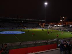Größtenteils herrschte Dunkelheit im Stadion des TSV 1860 München
