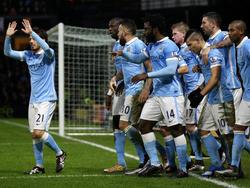 Manchester City darf kurz vor Ende der Partie doch noch jubeln