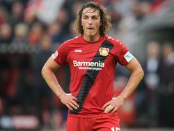 Julian Baumgartlinger soll wieder vor dem Abschied von Bayer stehen