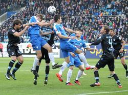 Viele Zweikämpfe lieferte sich der VfL Bochum mit dem TSV 1860 München