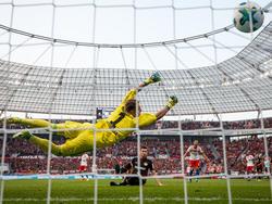 Lucas Alario glänzte bei seinem Bayer-Debüt