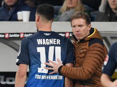 Kann Nagelsmann (re.) gegen den BVB auf Wagner bauen?