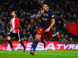 Luis Suárez schoss einen Dreierpack gegen Bilbao