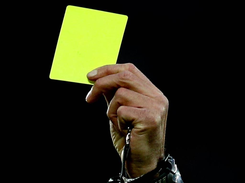 gelbe karten