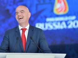 FIFA-Chef Infantino: EM gute Werbung für WM-Aufstockung