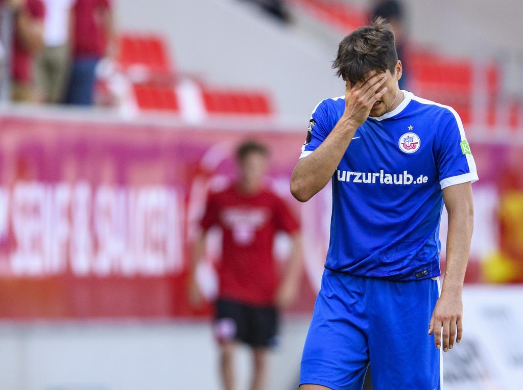 Fußball: Nächster Abgang: Marcus Hoffmann verlässt Hansa