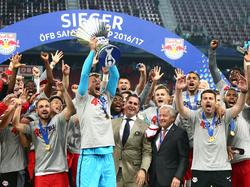 Double-Gewinner RB Salzburg darf in der Qualifikation der Champions League starten