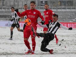 Bielefeld kam im Schneegestöber nicht wirklich zurecht