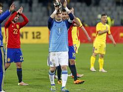 Iker Casillas, jugador europeo con más internacionalidades. (Foto: Getty)