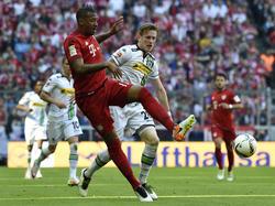 Jérôme Boateng (l.) stand für die Bayern wieder auf dem Platz