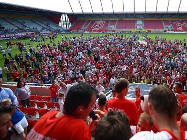 Die Euphorie in Regensburg ist nach der Rückkehr in die 3. Liga riesig