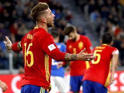 Sergio Ramos und Co. trauern dem verpassten Dreier gegen Italien hinterher