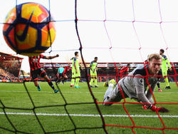 Loris Karius machte bei der Pleite des FC Liverpool keine gute Figur