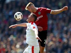 Niclas Füllkrug (r.) traf entscheidend gegen Fortuna Düsseldorf