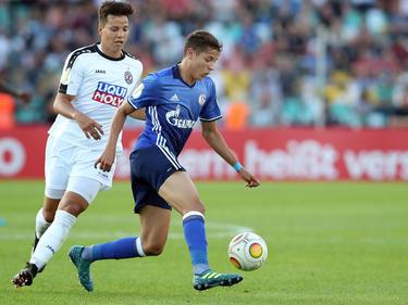Die Fans von Schalke 04 setzen große Hofnungen in Amine Harit