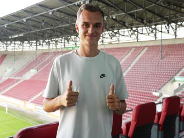 Jakob soll den FCA verstärken (Bildquelle: Twitter FC Augsburg)