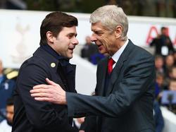 Treffen am Samstag im Derby aufeinander: Mauricio Pochettino und Arséne Wenger