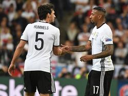 Mats Hummels und Jérôme Boateng konnten defensiv überzeugen
